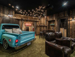 Test Creating the Perfect Man Cave, Quarantine-style