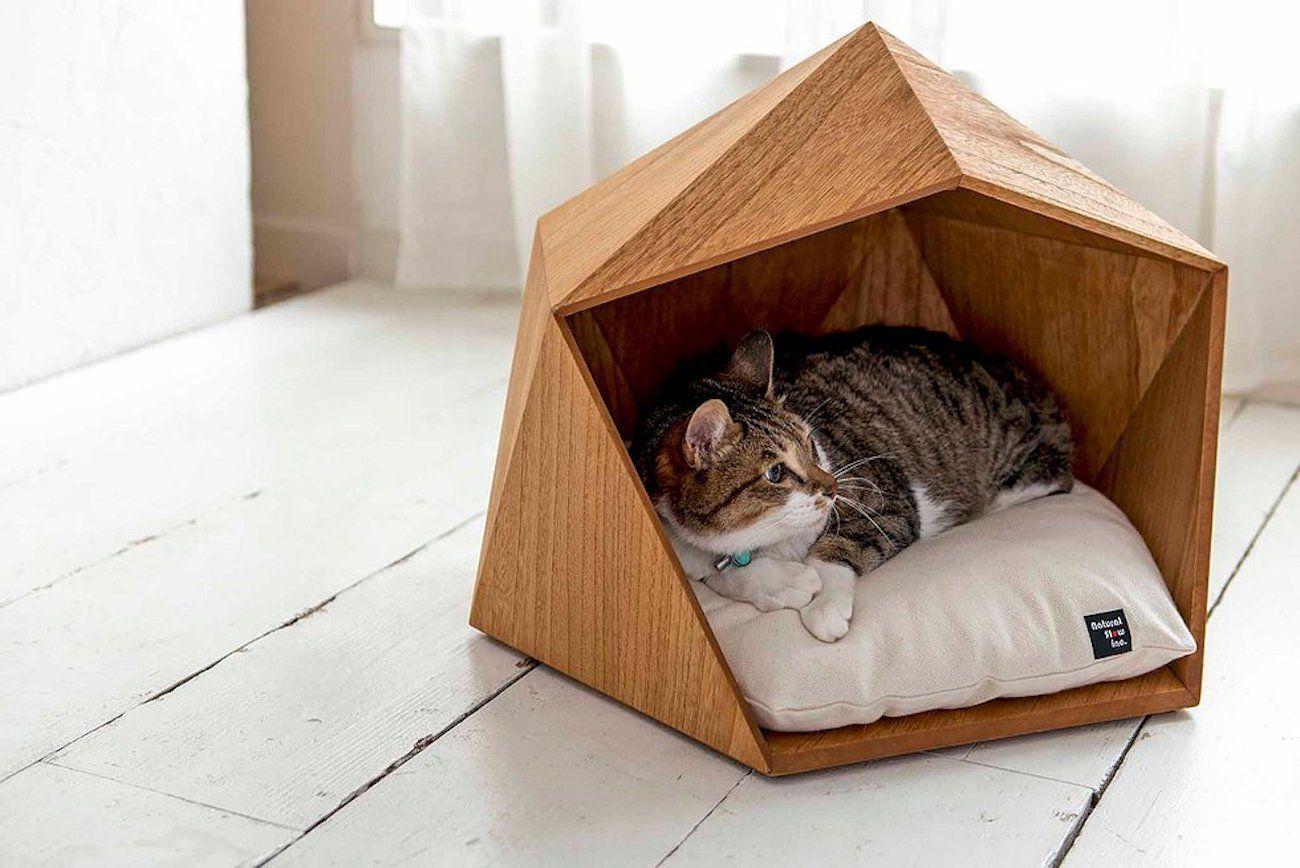 DIY Wooden Cat House