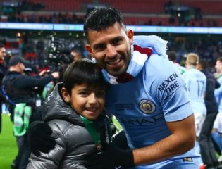 The Son of Sergio Aguero Has a Different Favorite Striker