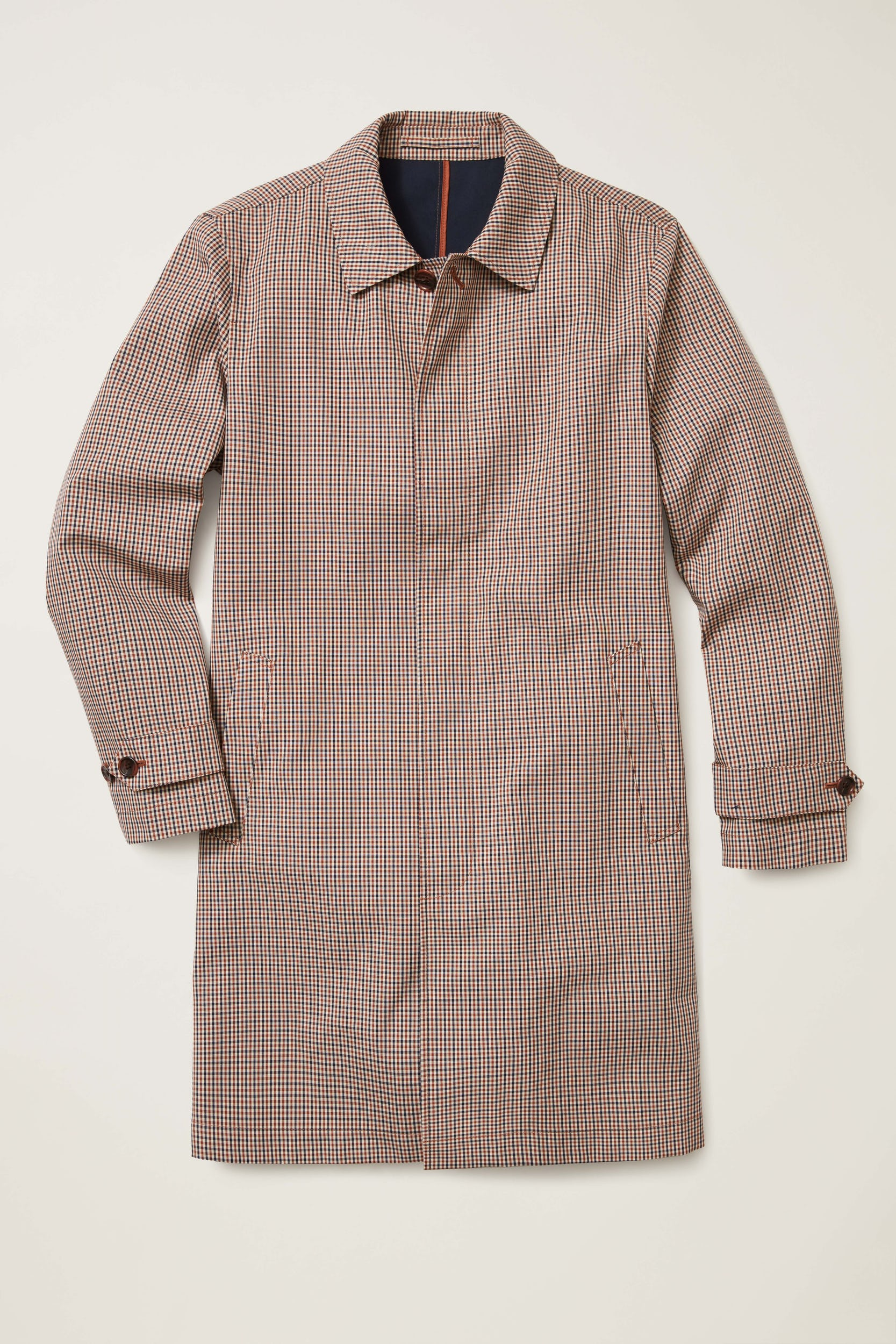 The elegant patterned Bonobos Mac Jacket is perfect for spring's rainy days.