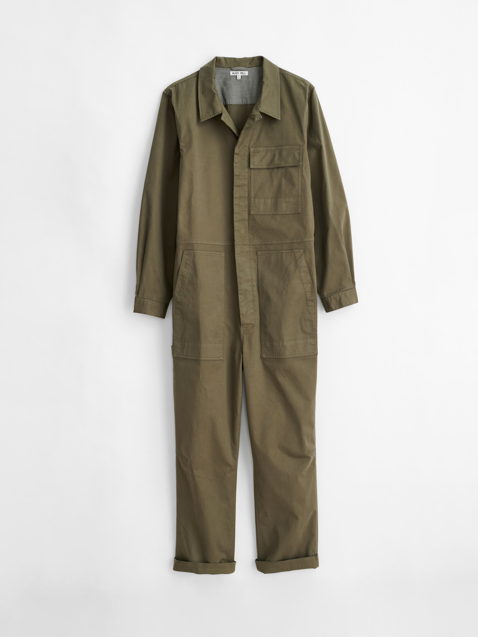 The stylish Alex Mill Field Jumpsuit is expected to be a hit among men for the spring of 2021.
