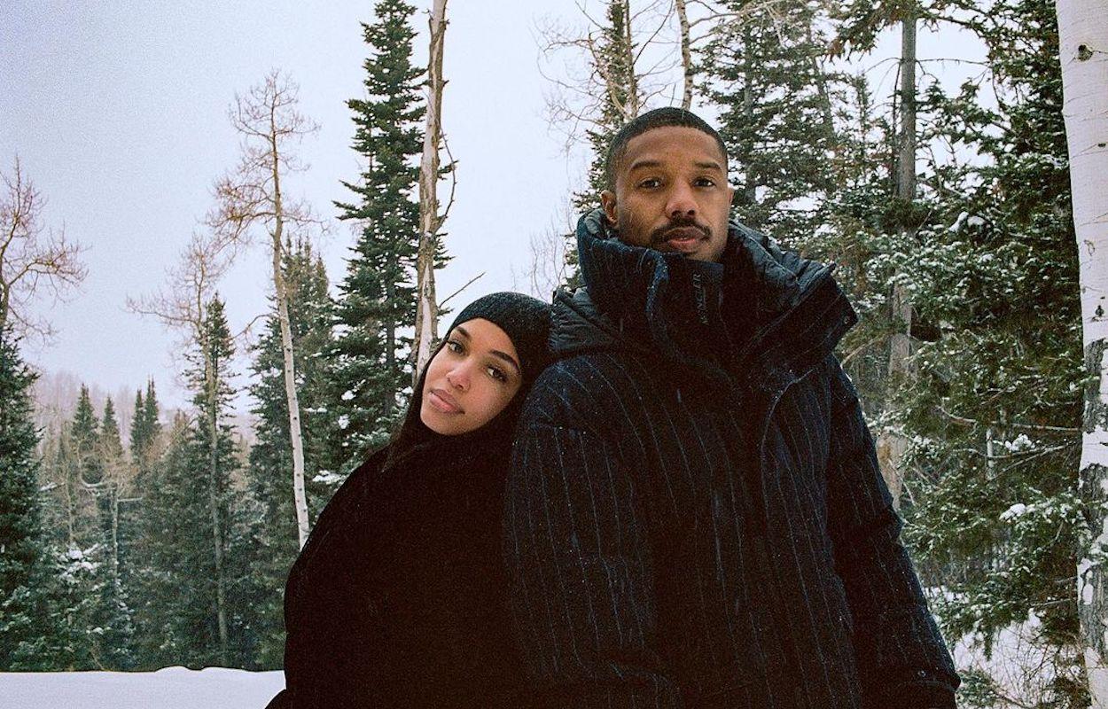 Michael B. Jordan and his girlfriend Lori Harvey