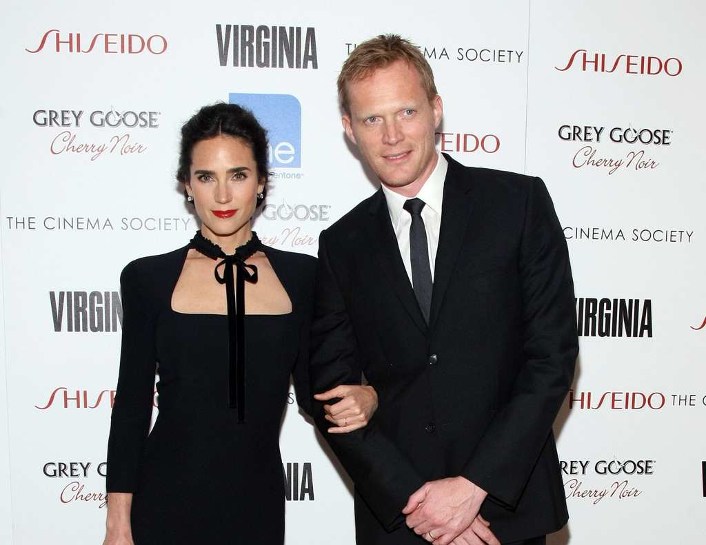 Paul Bettany with his wife, actress Jennifer Connelly