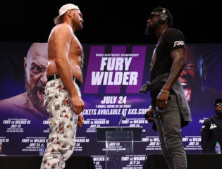 Deontay Wilder Dodged All Questions for His Upcoming Match With Fury