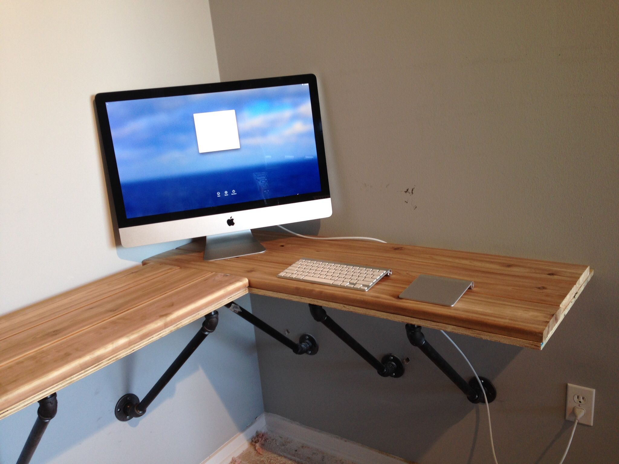 Shelf Computer Desk
