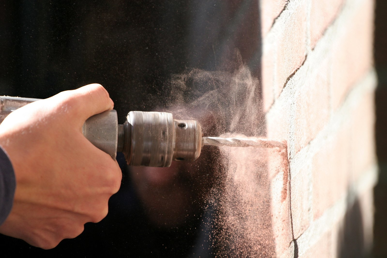 Drilling a Wall