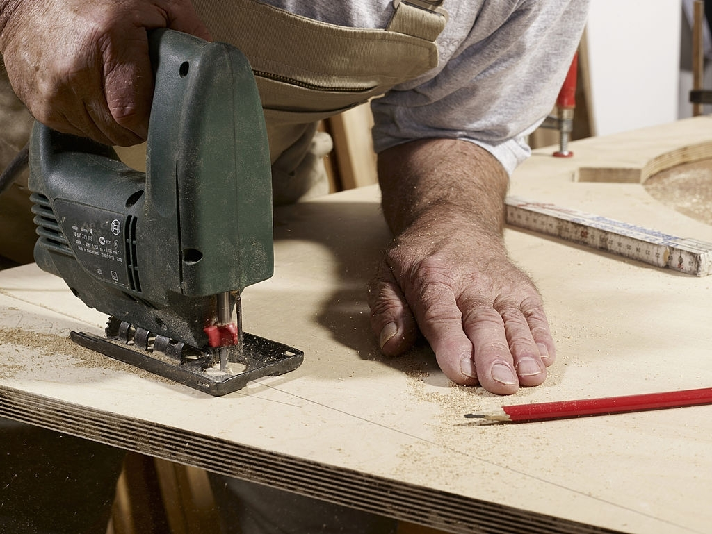 Cut and Prepare the Plywood