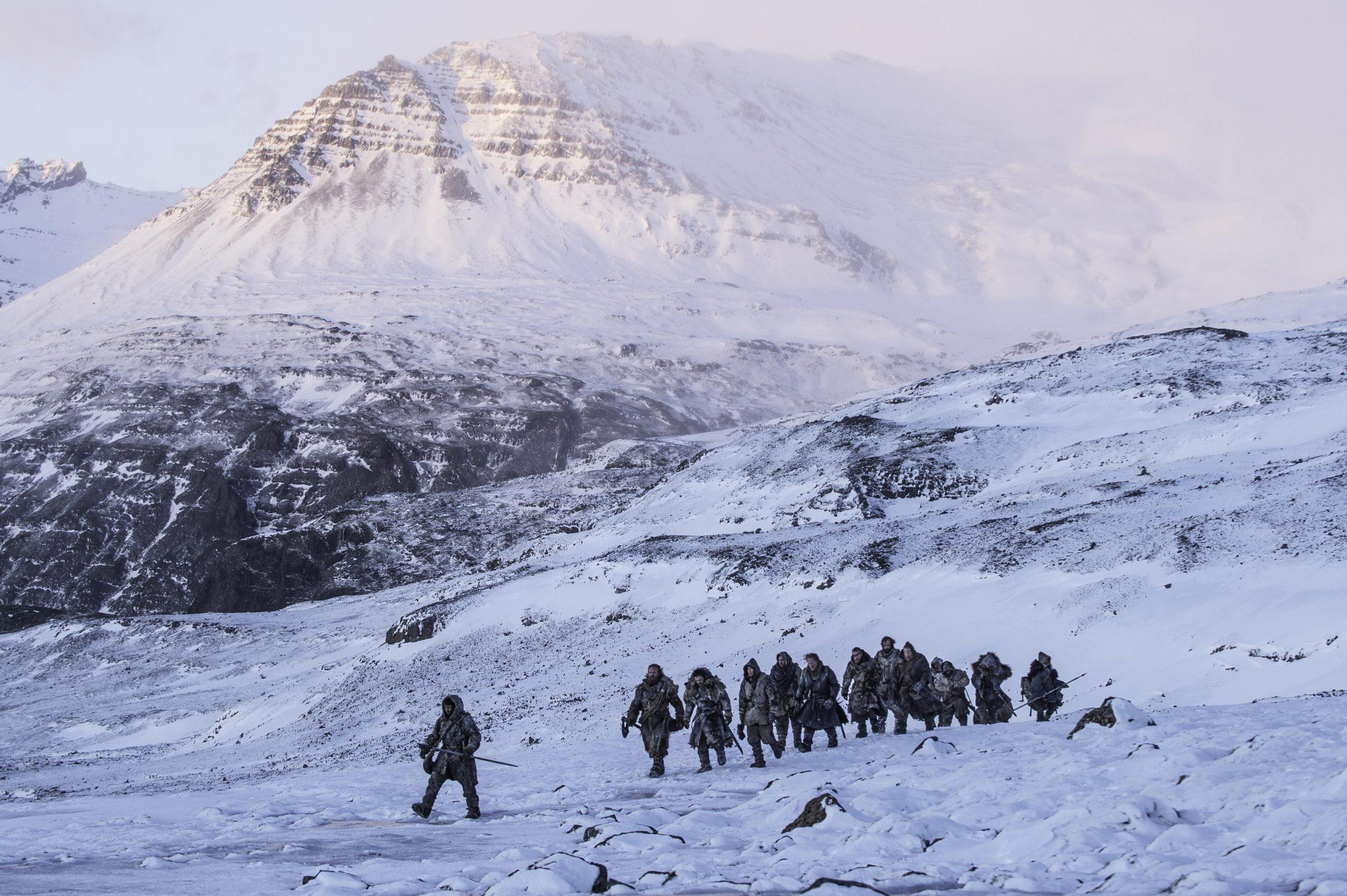 GOT scene filmed in Iceland