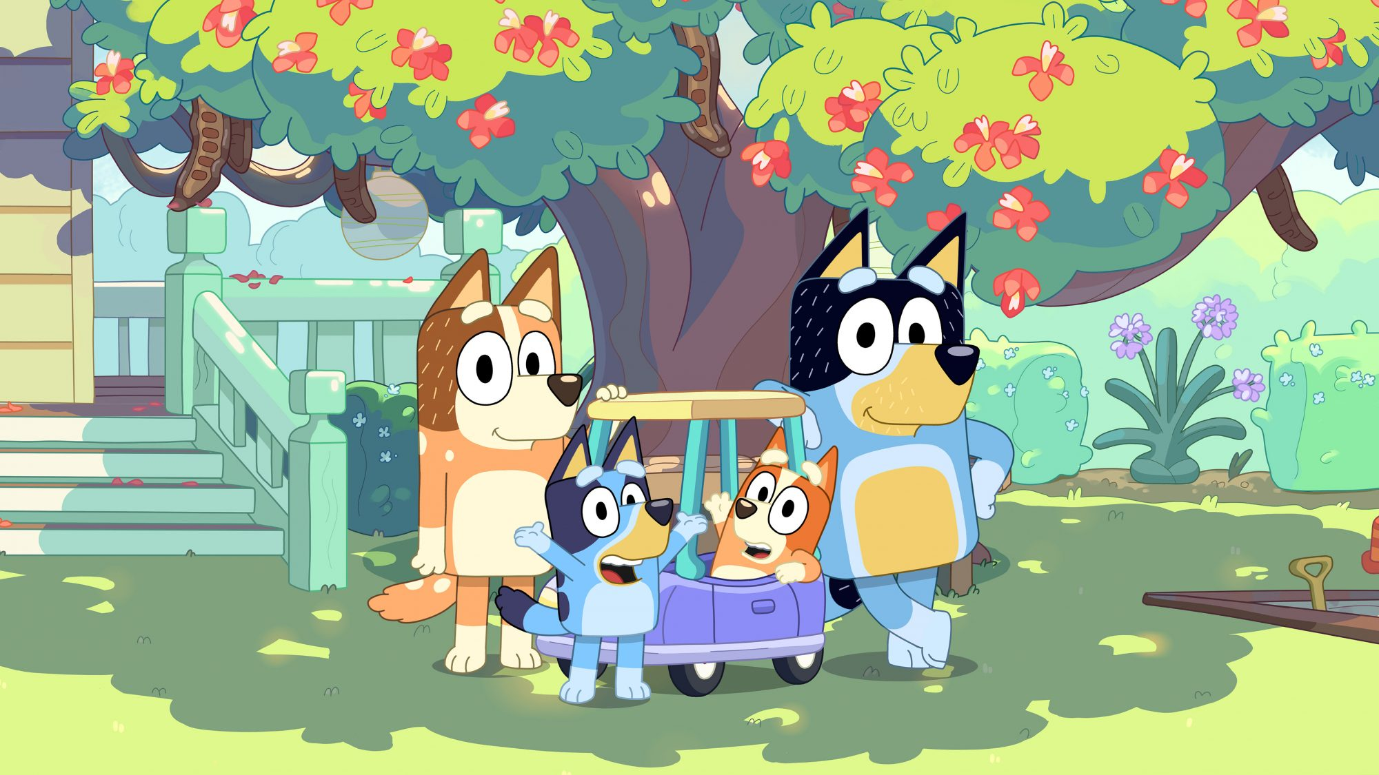 Bluey Is the Show Many Caring and Stressed Stay-at-Home Dads Need